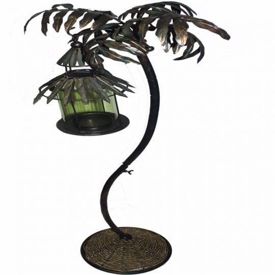 Metal Hanging Lantern Tree Design Holder